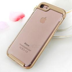 Disco rígido de luxo TPU choques tampa móvel para iPhone 7 casos