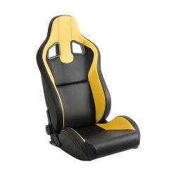 Cuir synthétique ajustable de haute qualité des sièges de voiture de course
