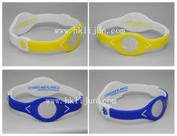 Bracelets en Silicone Double couleur avec votre propre hologramme