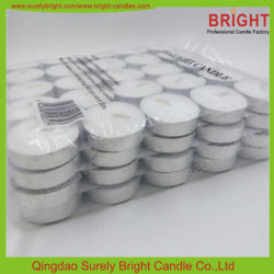 4 Stunden 100PCS Packing White Tealight Candle