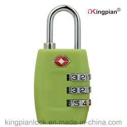 قفل أمان الحقيبة المركب (TSA) للحقيبة والأمتعة