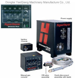 Hyperthem primera potencia de corte Plasma de aire para maquinaria Yaoqiang