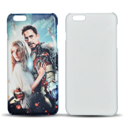 Heißer Verkaufs-Leerzeichen-Telefon-Deckel-Sublimation-Fall für das iPhone 6 Plus