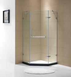 Casella dell'acquazzone di allegato dell'acquazzone degli occhiali di protezione di disegno di Frameless SUS304