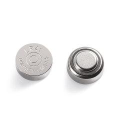 Tasten-Zellen-Batterie des Mercury-1.5V freie alkalische für Uhr (AG13/LR44)