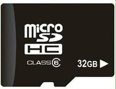 De witte Rode Zwarte of Blauwe 32GB Kaart Class10 van BR beveiligt Digitale Kaart met de Garantie van het Leven