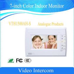 Dahuaの7インチカラー屋内モニタのビデオ通話装置のドアの電話(VTH1500AH-S)