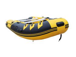 Pesca barco a remos jangada inflável com bomba remos de pá
