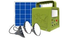 Небольшой солнечной энергии Smart Power с панели управления и освещения
