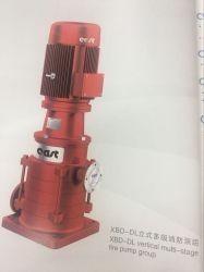 مجموعة مضخات إطفاء الحريق الرأسية متعددة المراحل طراز Xbd-DL مصنوعة في الصين