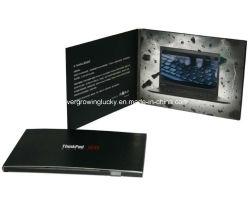 Écran LCD 7 pouces personnalisé Vidéo Brochure de la publicité
