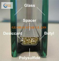 8 + 14A + 8mm verre stratifié tempéré en verre verre de sécurité en double vitrage