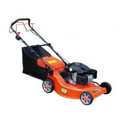 Горячая продажа 4.0HP ручной газоне косилка бензин 139cc стальные Газонные деки косилки