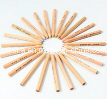 """"""" matita naturale di legno di colore 3.5 per il rifornimento promozionale della cancelleria dell'ufficio"""