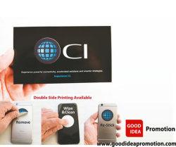Sticker van de Telefoon van Microfiber de Mobiele, de Mobiele Schonere, PromotieGift van het Scherm voor Mobiel