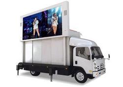 P4.81 P5 P8 P10のトラックのトレーラーLEDスクリーンのトレーラーのLED表示トレーラーLEDの印P5の移動式ビデオLED表示