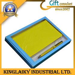Ensemble cadeau pour ordinateur portable en cuir pour la promotion (P017)