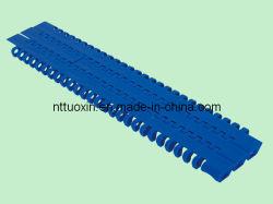 1100 à dessus plat en plastique pour l'emballage de la courroie du convoyeur modulaire des machines