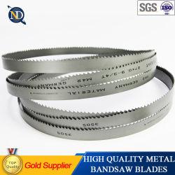 34mm bande bimétallique HSS pour acier inoxydable de lame de scie