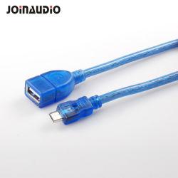 マイクロUSB 2.0 OTGケーブルのアダプターの女性USB (9.5426)への男性のマイクロUSB
