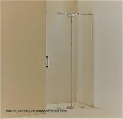 8-10mm douche en verre trempé charnière de pivot de l'écran ouvert