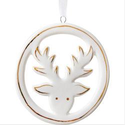 2020 новейший украшение для елки подарки керамические X'как оленя висящих орнамент