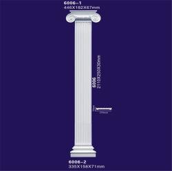 Мраморные колонны из полиуретана конструкции, гипс римскими колоннами / PU Post