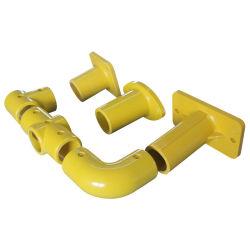 Los racores de pasamanos de FRP/Perfiles/ accesorios de tubería/soporte fijo/Conector de riel de fibra de vidrio