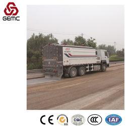 Commande automatique de véhicules de pulvérisation de ciment pour le nouveau pavage la construction de routes