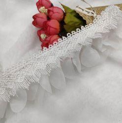 3 Capas Volantes de fresado de encaje accesorios de prendas de vestir