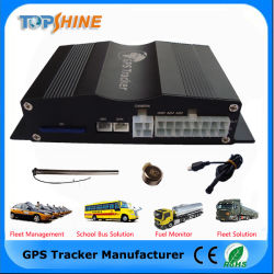 Inseguitore dell'automobile di GPS del software libero con il combustibile della macchina fotografica OBD2 di RFID