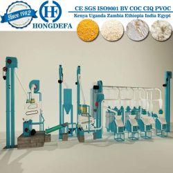Het Graan van de Verkoop van de Markt van Angola 30t/de Machine van het Malen van koren van de Maniok