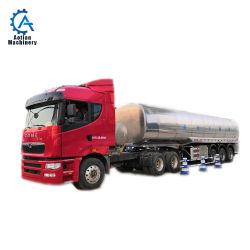3 Semi as - het Opgezette Speciale Voertuig van het Vervoer van de Vloeibare Melk 34tons