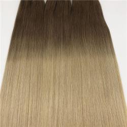 La migliore trama dei capelli di estensione dei capelli umani di Remy di qualità
