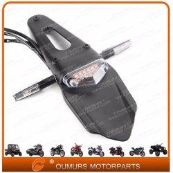12V intermitente LED luz trasera de plástico ABS de accesorios de moto