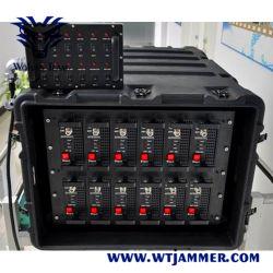 Das Leistungs-völlig integrierte ausgedehnte Band, das System UHF Radiosteuerung VHF-WiFi GPS staut, spielt 3G 4G Handy-Signal-Hemmer