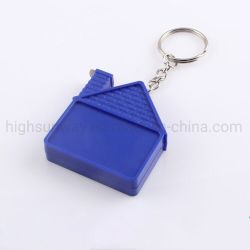 House Shape Mini Trena com chaveiro 1m