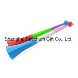 Fußball-Stadion-Beifall-Ventilator-Hupen Vuvuzela zujubelnde Hupe