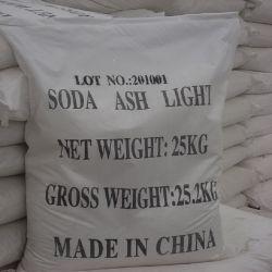 De witte Rang van het Voedsel van As van de Soda van het Poeder Lichte 99.2% en de Rang van de Industrie