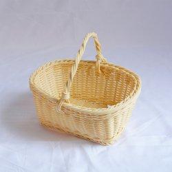 De mini Mand van de Totalisator van de Rotan van het Handvat van de Schommeling van de Honing van de Stijl van de Grootte Pastorale Ovale