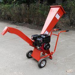휴대용 7HP 휘발유는 판매를 위한 50mm 칩하는 도구 수용량 드럼 정원 슈레더를 강화했다