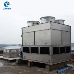 Koeling/Chemisch product/het Industriële Vierkant van het Voedsel Al Toren van de Waterkoeling van het Gesloten circuit/van de Lijn van de Stroom van het Staal Tegen