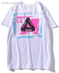 도매 플레인 블랙 화이트, Sublimationr 프린팅 반팔 면 저지 경량 맞춤형 로고 성인 남성용 Guy OEM 더블 니들 니트 티셔츠