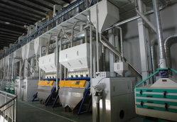 Kleiner kompletter Produktionszweig angekochtes Reis-Handelsc$prägen