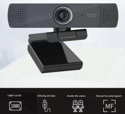 2020의 최신 판매인 PC 휴대용 퍼스널 컴퓨터를 위한 Mic 마이크를 가진 높은 정의 1080P 돌릴수 있는 Webcams PC 캠 컴퓨터 Webcam 사진기
