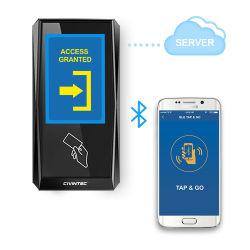 """3.5 """" het Systeem van het Toegangsbeheer NFC Bluetooth van het Web RFID van de Wolk van Linux TCP/IP van het Scherm van de Aanraking"""