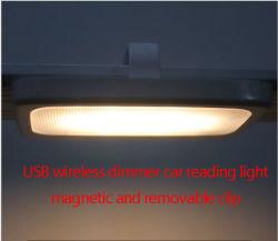 De Lamp van de draadloze Navulbare LEIDENE Lezing van de Klem met Sterke Magneet