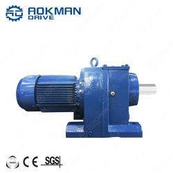 Aokman Inline-Welle mit Flansch-Steuerrad-Reduziergetriebe Getriebemotoren