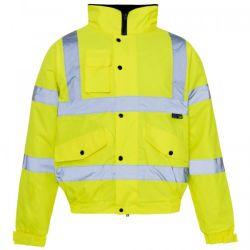 防水防風の紫外線保護反射作業衣類の摩耗の安全ジャケット