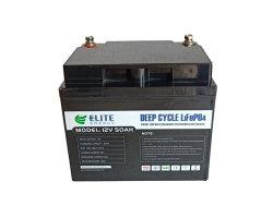 Qualidade superior de elite Bateria UPS 12V 50AH EV Bateria de iões de lítio para Fosfato Touring Car